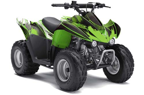 Can-Am DS90 DS 90 Quad Graphic Sticker Kit ATV Decal Wrap 2007-2018 FRENZY GREEN
